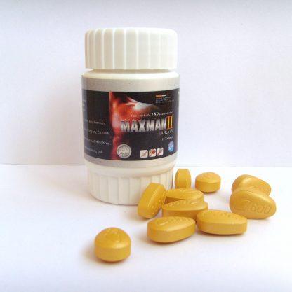 Таблетки для повышения потенции МАКСМЕН ІІ MAXMAN ІІ