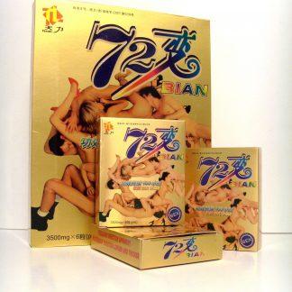 Капсулы для повышения потенции 72 BIAN